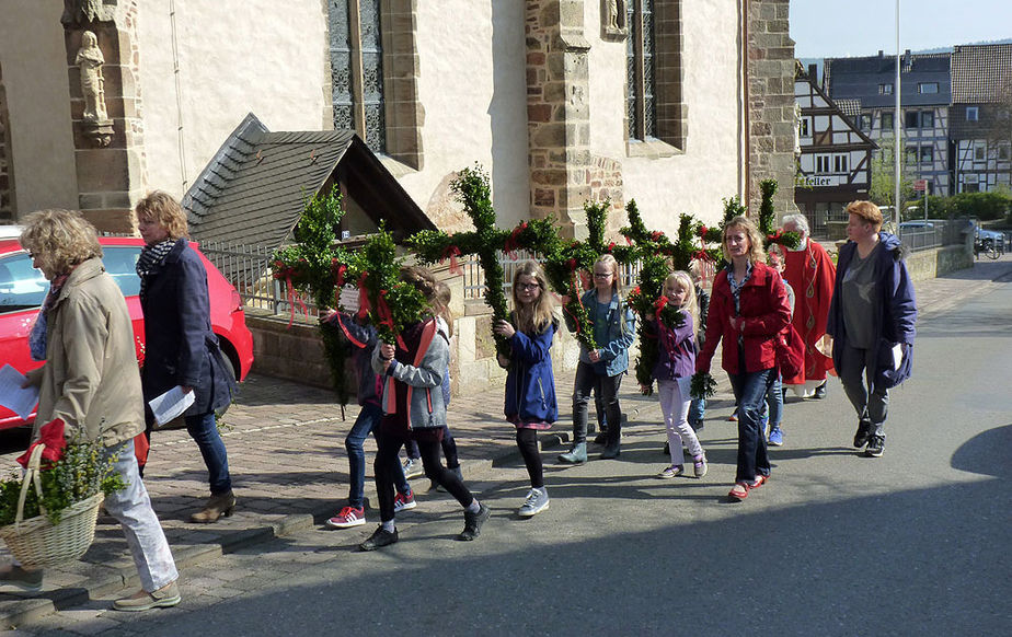 Palmsonntag in Naumburg