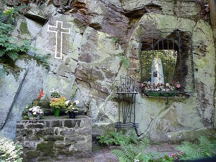 Fatima Grotte in Naumburg